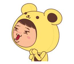 I'm Sunny sticker #1063254