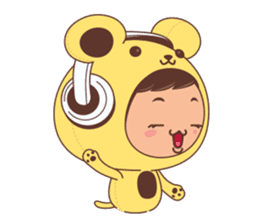I'm Sunny sticker #1063255