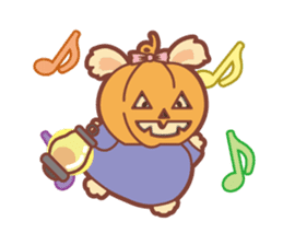 Kawaii Rabbits / Halloween sticker #1063526