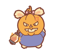 Kawaii Rabbits / Halloween sticker #1063527