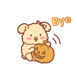 Kawaii Rabbits / Halloween sticker #1063539