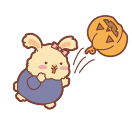 Kawaii Rabbits / Halloween sticker #1063540