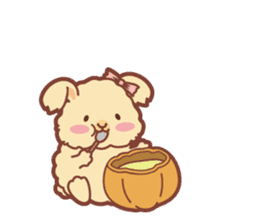 Kawaii Rabbits / Halloween sticker #1063541