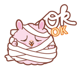 Kawaii Rabbits / Halloween sticker #1063542