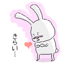 rabbit stickers sticker #1063683