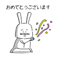 rabbit stickers sticker #1063687