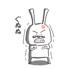 rabbit stickers sticker #1063689