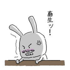 rabbit stickers sticker #1063690