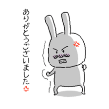 rabbit stickers sticker #1063693