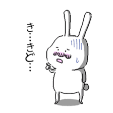 rabbit stickers sticker #1063708
