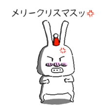 rabbit stickers sticker #1063717
