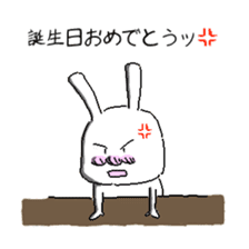 rabbit stickers sticker #1063719