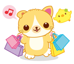 Munchkin Cat Happy Life! sticker #1064008