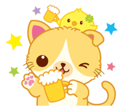 Munchkin Cat Happy Life! sticker #1064014