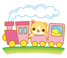 Munchkin Cat Happy Life! sticker #1064018