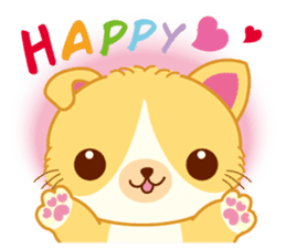 Munchkin Cat Happy Life! sticker #1064022