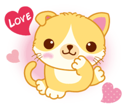 Munchkin Cat Happy Life! sticker #1064032
