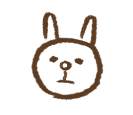 easy rabbit 2 sticker #1064610