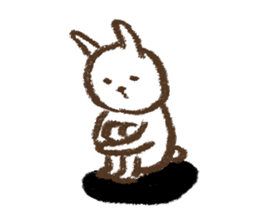 easy rabbit 2 sticker #1064611