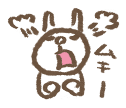 easy rabbit 2 sticker #1064641