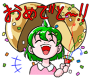 The events with Lunna-chan's life. sticker #1065404