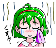 The events with Lunna-chan's life. sticker #1065406