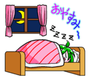 The events with Lunna-chan's life. sticker #1065411