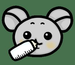 Baby animals sticker #1065677