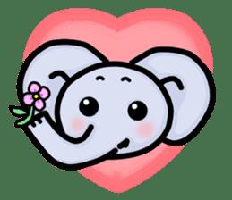 Baby animals sticker #1065691