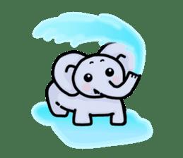 Baby animals sticker #1065694