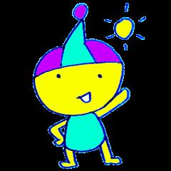 I am colorful boy
