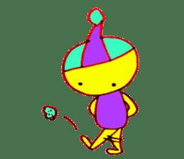 I am colorful boy sticker #1065790