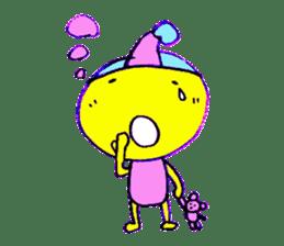 I am colorful boy sticker #1065798
