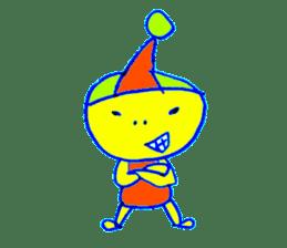 I am colorful boy sticker #1065799
