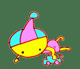 I am colorful boy sticker #1065800