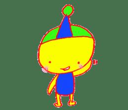 I am colorful boy sticker #1065805
