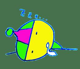 I am colorful boy sticker #1065806