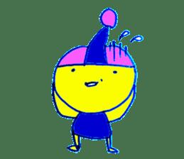 I am colorful boy sticker #1065809