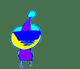 I am colorful boy sticker #1065810