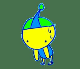 I am colorful boy sticker #1065813
