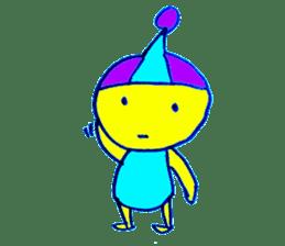 I am colorful boy sticker #1065814