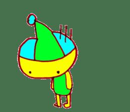 I am colorful boy sticker #1065816