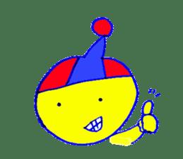 I am colorful boy sticker #1065821