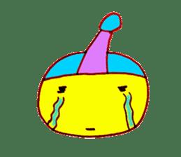 I am colorful boy sticker #1065823