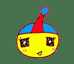 I am colorful boy sticker #1065824