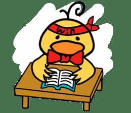 Bowknot Duck&Lai bear sticker #1066034