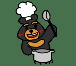 Bowknot Duck&Lai bear sticker #1066037
