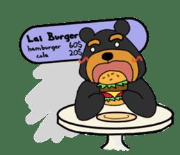 Bowknot Duck&Lai bear sticker #1066038