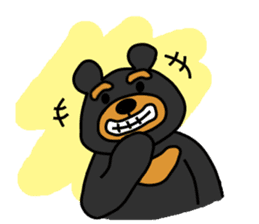 Bowknot Duck&Lai bear sticker #1066039