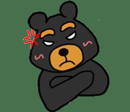 Bowknot Duck&Lai bear sticker #1066041